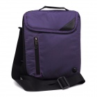 D-005 High-Quality Tablet PC Storage Messager Shoulder Bag Handbag for IPAD + More - Purple
