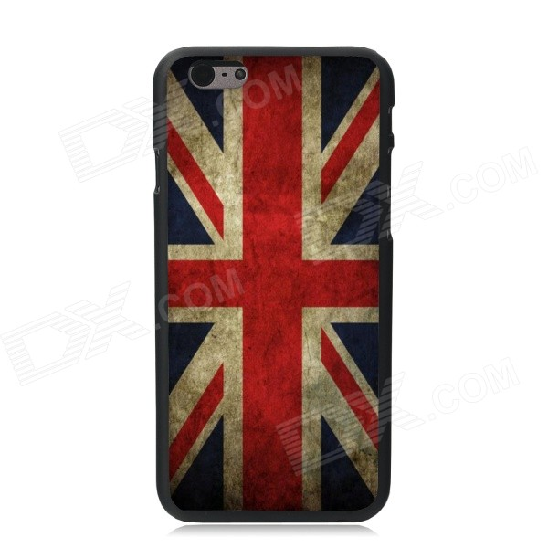 Elonbo UK Flag Pattern Plastic Back Case for IPHONE 6 PLUS - Red + Earthy Yellow + Multi-Color suck uk