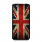 Elonbo UK Flag Pattern Plastic Back Case for IPHONE 6 PLUS - Red + Earthy Yellow + Multi-Color