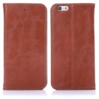 "ENKAY Protective PU Leather Case w/ Stand for IPHONE 6 4.7"" - Brown"