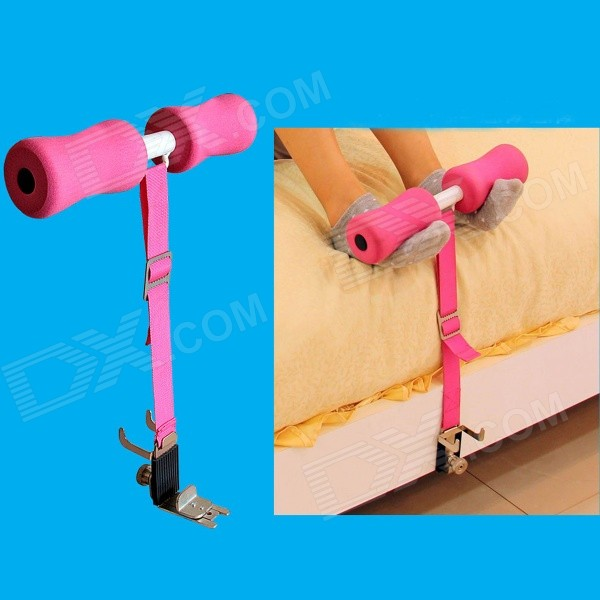 Portable bed sit up fitness equipment for belly abdomen for Beds that sit up