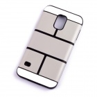 Protective TPU Back Case Cover for Samsung Galaxy S5 - Grey