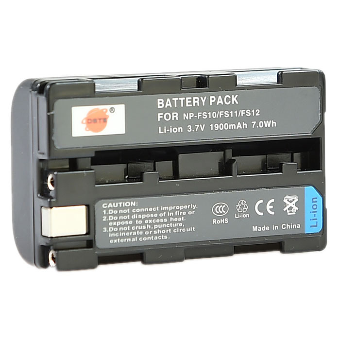 DSTE 1900mAh NP-FS10 / FS11 / FS12 Battery for Sony DCR-TRV1VE DSC-F505 P20 PC4 PC5 + More зарядное устройство для фотокамеры oem bc sony np fv100 dcr sr68 hdr xr350e cargador dcr dvd103 5 bc trv