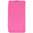 NILLKIN Protective PU Leather + PC Case Cover for Nokia Lumia 530 - Pink