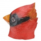 SYVIO Stylish Red Bird Style Face Mask for Cosplay / Costume Party - Red + Black