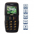 "ADMET B30 MTK6250D GSM Quad-band Bar Phone w/ 1.77"", Bluetooth, FM  - Black + Yellow"