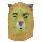 SYVIO Lobo + Lion Head Dual Side Estilo Máscara para Halloween / Cosplay - Verde + Gris