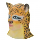 Buy SYVIO Women's Beauty Face Leopard Head Style Rubber Mask Cosplay / Party - Yellow + Black