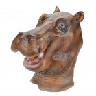 Máscara SYVIO Hippopotamus Cabeça para Cosplay / Costume Party - Brown