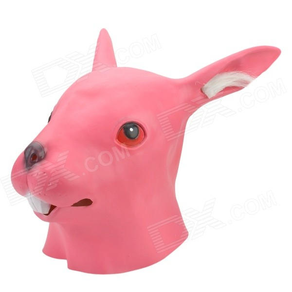SYVIO Stylish Rabbit Head Style Mask for Cosplay / Costume Party - Pink