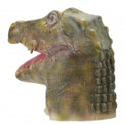 SYVIO Crocodile Head Style Mask for Cosplay / Party - Bronze
