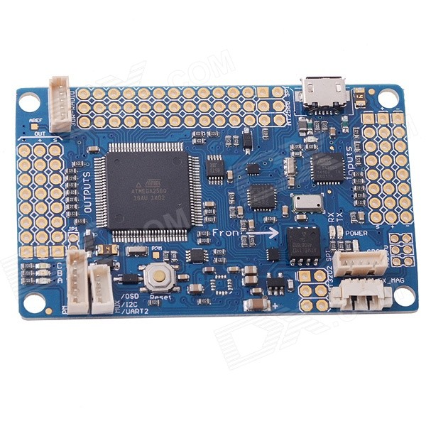 HJ APM V2.8 Flight Controller Board for R/C Aircraft - Blue rare gemini jets 1 72 cessna 172 n53417 sporty s flight school alloy aircraft model collection model