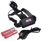 RichFire SF-639 5V USB Rechargeable White LED Headlamp w /CREE XML T6 (2 x 18650)