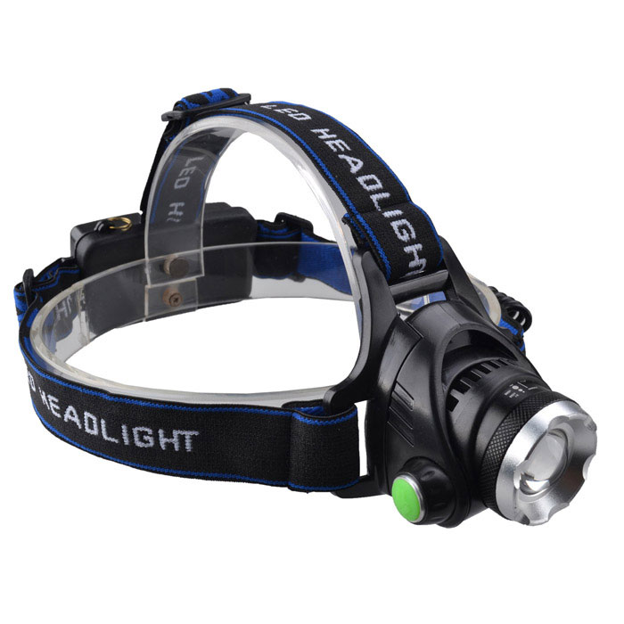 RichFire SF-641 5V USB Zooming Rechargeable 3-Mode White LED Headlamp w/ CREE XML T6 (2 x 18650) стоимость