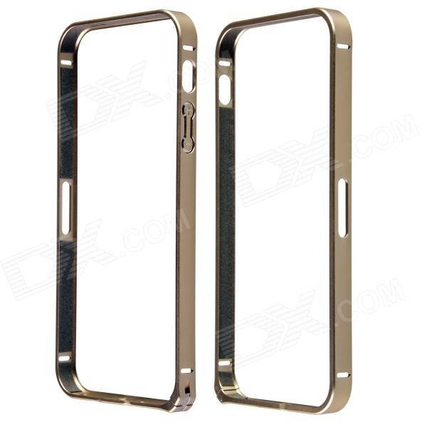 Protective Anti-radiation Aviation Aluminum Alloy Bumper Frame Case for IPHONE 5 / 5S - Golden раковина встраиваемая cersanit caspia 60см p um cas60 1 o