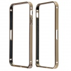Protective Anti-radiation Aviation Aluminum Alloy Bumper Frame Case for IPHONE 5 / 5S - Golden