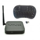 MINIX NEO X6 Quad-Core Android 4.4.2 TV-Player + Mini-Tastatur - Schwarz (Russisch)