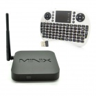 Buy MINIX NEO X6 Quad-Core Android 4.4.2 TV Player + Mini Keyboard - White (Russian / EU Plug)