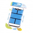Jigsaw Pattern Protective TPU Back Case Cover for Samsung 9300/S3 - Blue
