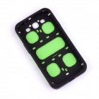 Jigsaw Pattern Protective TPU Back Case Cover for Samsung 9300/S3 - Green