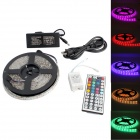 GC 72W 3000lm 300-SMD 5050 LED RGB Wasserdicht Light Strip w / 44-Key R / C - Weiß (5M / DC 12V)