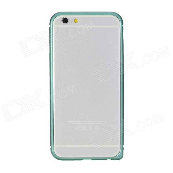 ROCK Ultra-thin Aluminum Alloy Bumper Frame Case for IPHONE 6 4.7 - Blueish Green lacywear s 145 log