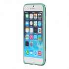 "ROCK Ultra-thin Aluminum Alloy Bumper Frame Case for IPHONE 6 4.7"" - Blueish Green"