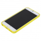 ROCK Protective PC + TPU Back Shell w/ Soft Edging Case for IPHONE 6 PLUS - Yellow + Transparent
