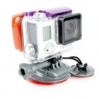 PANNOVO G-643Grey Sports Ski / Surf Wakeboard Mount Set for Gopro Hero 4/ 2 / 3 / 3+ / SJ4000 - Grey