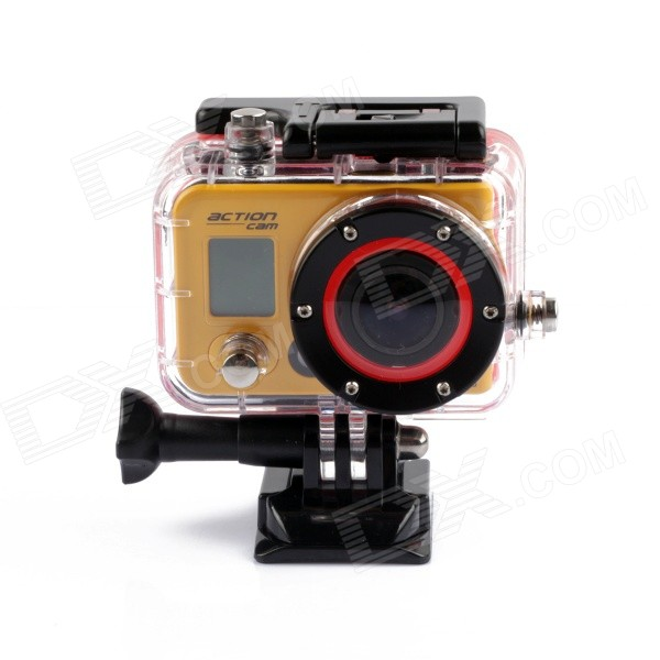 цена на Outdoor Sports 12.0MP Diving Waterproof 0.7 LCD Full HD 1080P Wi-Fi Camera Camcorder
