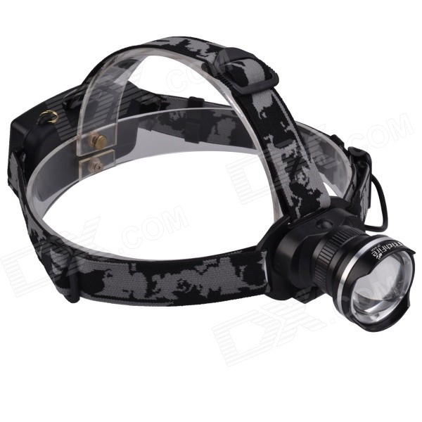 RichFire SF-643A 5V USB Zooming Rechargeable 3-Mode White LED Headlamp w/ CREE XML T6 (2 x 18650) стоимость