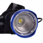 RichFire SF-643B 5V USB Zoom recargable 3-Mode LED blanco faro w / CREE XML T6 (2 x 18650)