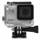 "S30W Water Resistant 1.5"" CCD 1080P HD 150' Wide-Angle Sports Camcorder w/ Wi-Fi - Silver + Black"