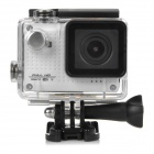 "S30W Water Resistant 1.5"" TFT CCD 1080P HD 150' Wide-Angle Sports Camcorder w/ Wi-Fi - White + Black"