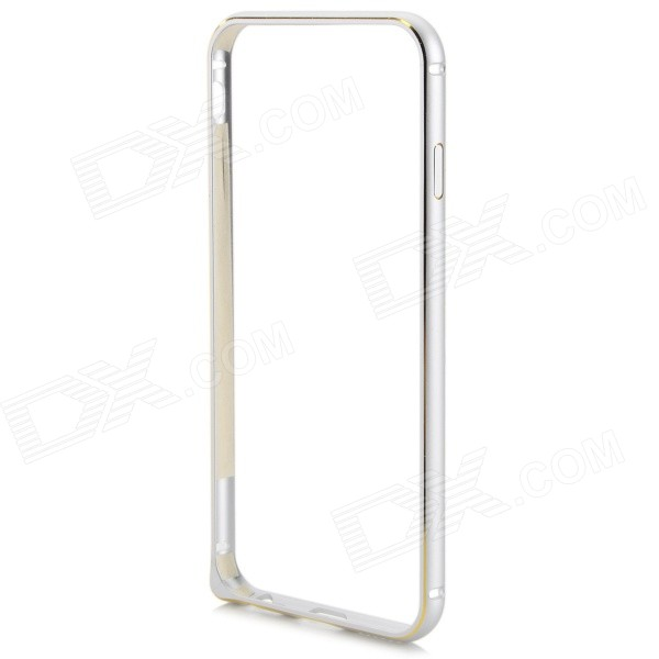 Protective Aluminum Alloy Bumper Frame for IPHONE 6 4.7 - Silver + Golden protective aluminum alloy bumper frame for iphone 6 black golden