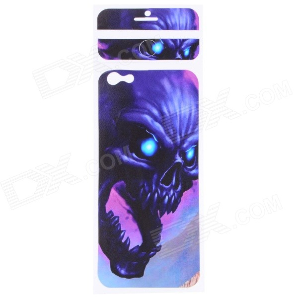 Cool Decorative PVC Back Protector Sticker for IPHONE 6 PLUS 5.5