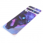 "Cool Decorative PVC Back Protector Sticker for IPHONE 6 PLUS 5.5"" - Purple"