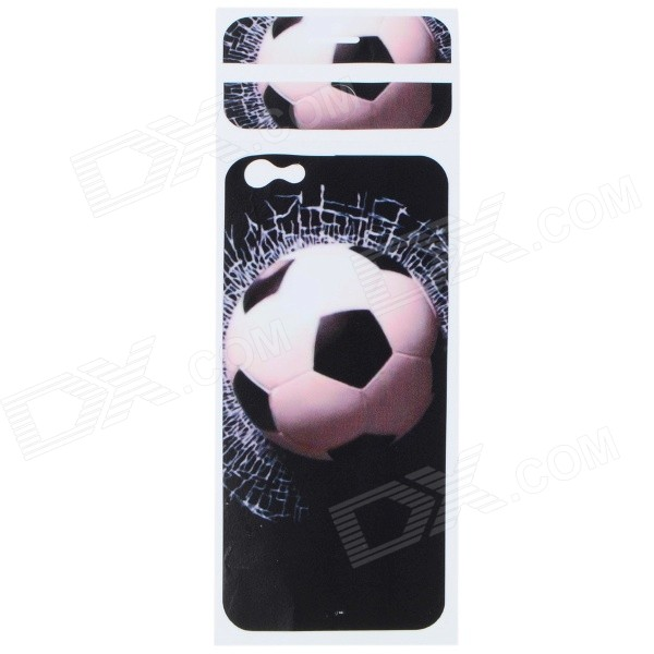 Football Pattern Decorative PVC Back Protector Sticker for IPHONE 6 PLUS 5.5