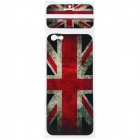 "UK Flag Pattern Decorative PVC Back Protector Sticker for IPHONE 6 PLUS 5.5"" - Red + Multicolored"
