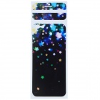 "Star Pattern Decorative PVC Back Protector Sticker for IPHONE 6 PLUS 5.5"" - Black + Multi-Color"