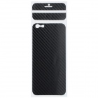 "Decorative PVC Back Protector Sticker for IPHONE 6 PLUS 5.5"" - Black"