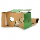 "DIY Google Cardboard Virtual Reality 3D Glasses w/ NFC Headband for 4~7"" Cell Phone - Green"