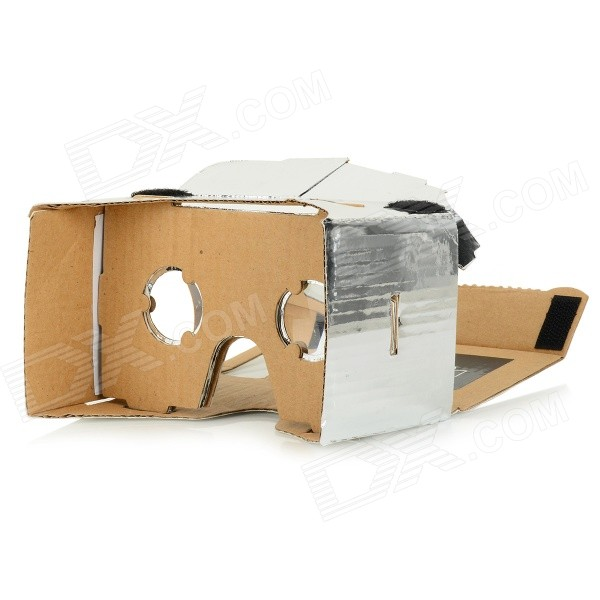 DIY Google Cardboard Virtual Reality 3D Glasses w/ NFC for 4~7