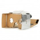 "DIY Google Cardboard Virtual Reality 3D Glasses w/ NFC for 4~7"" Cell Phone - Silver"
