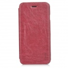 "HOCO Retro Style Protective PU Flip-Open Case for IPHONE 6 4.7"" - Wine Red"