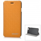 "Stylish Protective Flip-Open PU Case Cover for IPHONE 6 4.7"" - Orange"