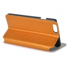 "Élégant flip-Open Housse de protection en PU pour iPhone 6 4.7 ""- Orange"