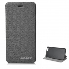 "Stylish Protective Flip-Open PU Case Cover for IPHONE 6 4.7"" - Dark Grey"