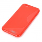 "IKKI S Shaped Protective TPU Back Case for IPHONE 6 4.7"" - Red"