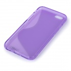 "IKKI High Quality S Shaped TPU Back Case for IPHONE 6 4.7"" - Purple"
